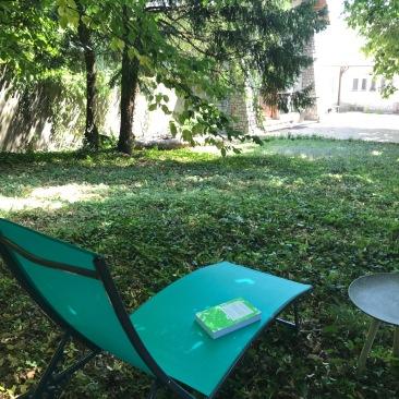 jardin en sous bois